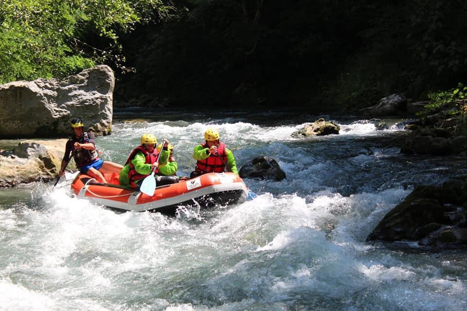 Rafting Pollino da vivere